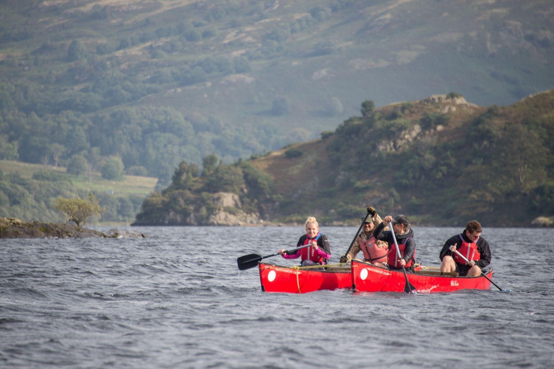 Canoe Derwentwater