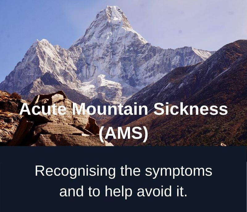 Recognising Acute Mountain Sickness (AMS) and how to help prevent it.