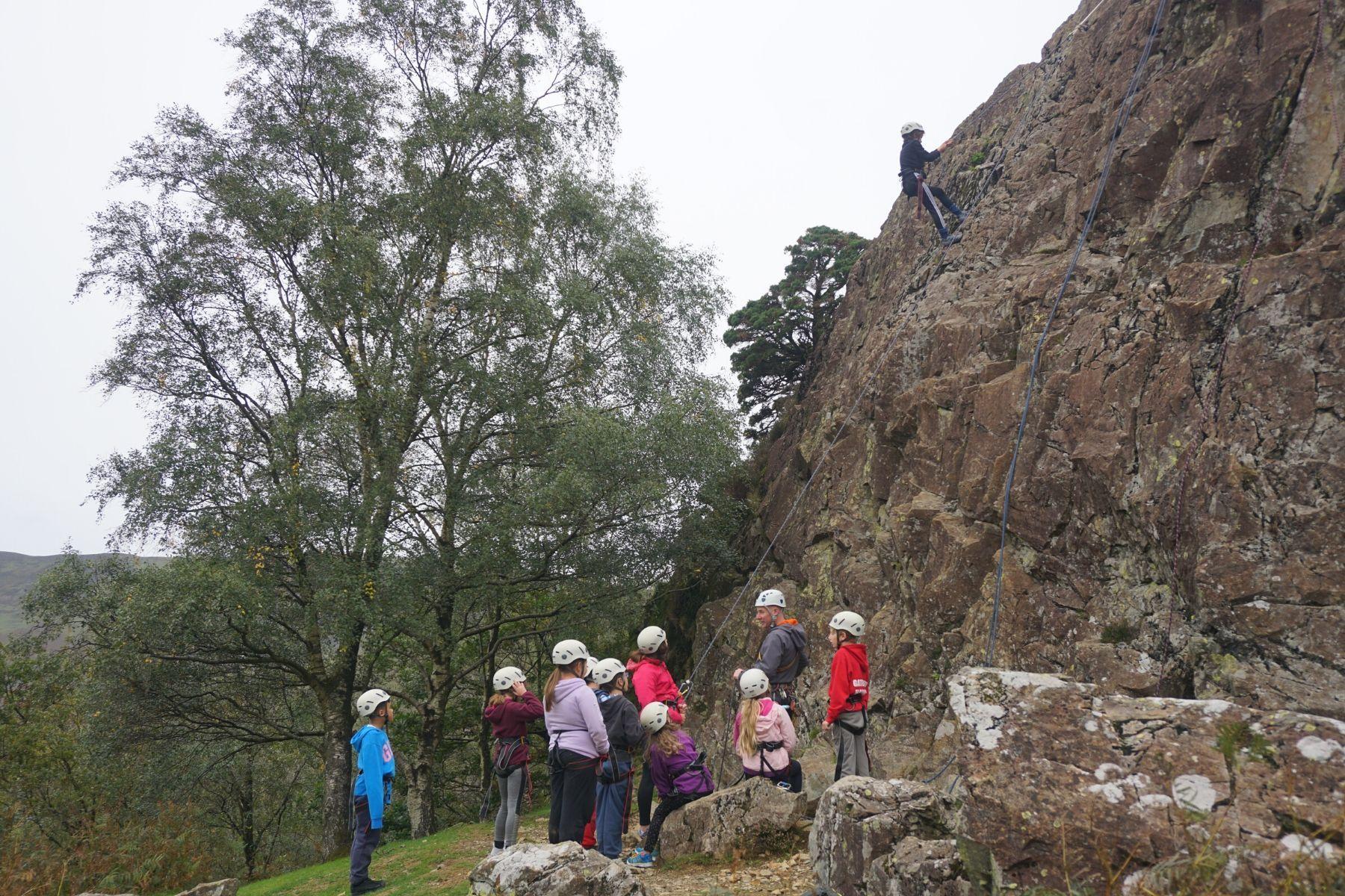 Rock Climbing in Keswick