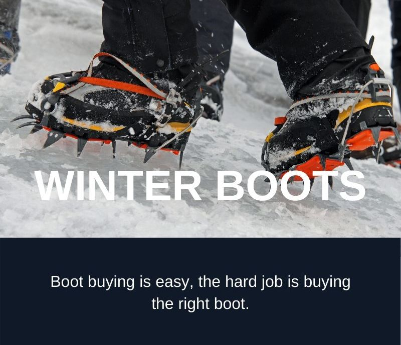 Winter Mountain Boots: How to ensure you buy the right winter boot.