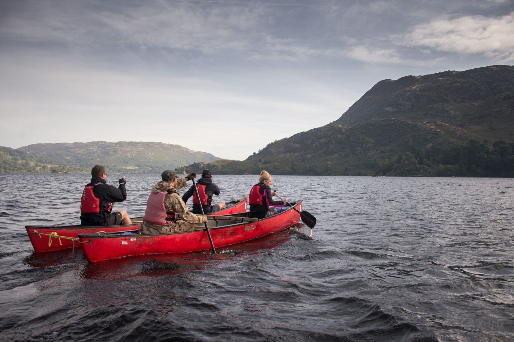 Canoe Ullswater
