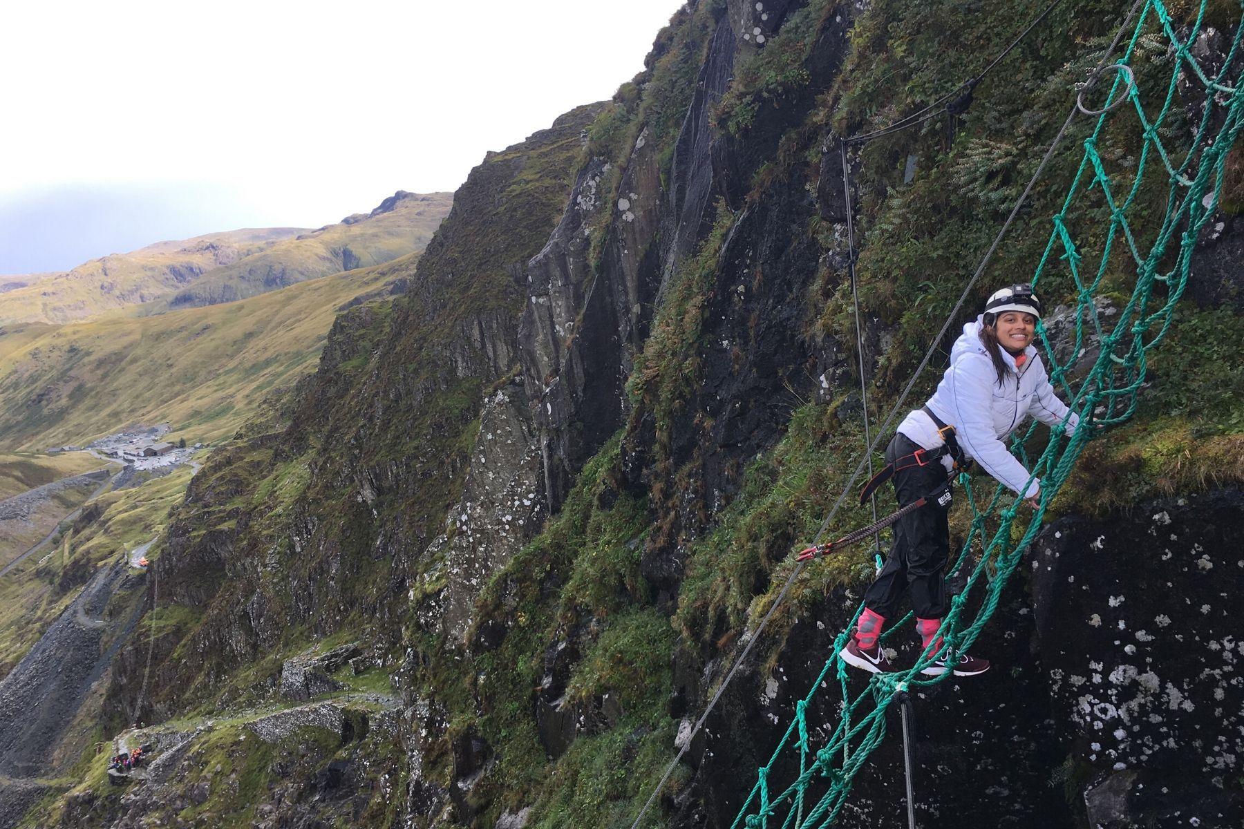 Climb the Mine, Lake District